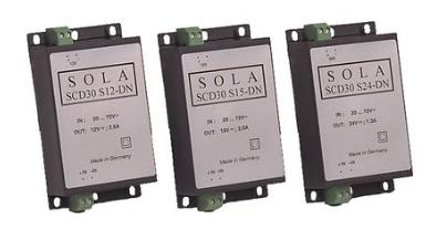SolaHD™ SCD 封装工业 DC-DC 转换器